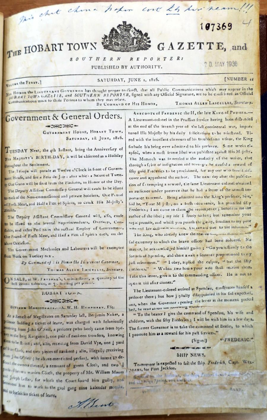 6. HTG NLA June 1 1816