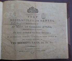 Port regs 1815