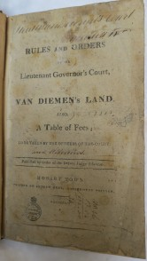 Rules and Orders of the Lieutenant Governor's Court