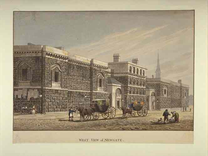West_View_of_Newgate_by_George_Shepherd_(1784-1862)
