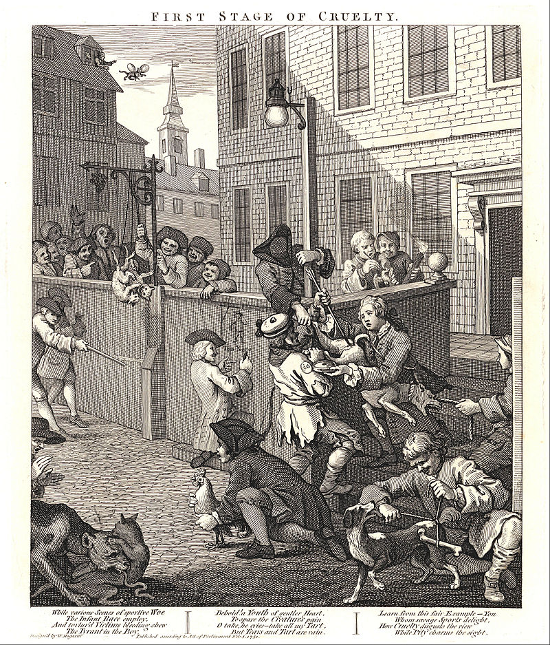 800px-William_Hogarth_-_The_First_Stage_of_Cruelty-_Children_Torturing_Animals_-_Google_Art_Project