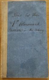 1824 Almanack Crowther 1