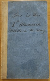 1824 Almanack Crowther 1