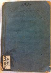 1830 Almanack VSL