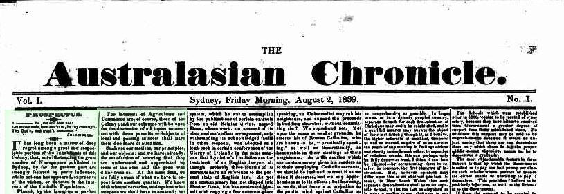 Australasian Chronicle