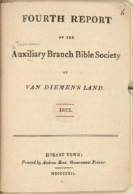 Bible Society 4th report