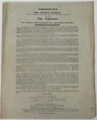 Colonist prospectus