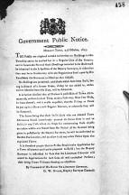 Govt public notice 1817