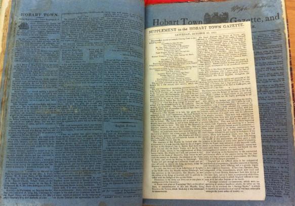 HTG NLA 1821 blue paper suppl JPF 2