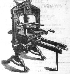 Imperial press ca 1831