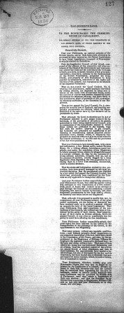 petition Sep 1835