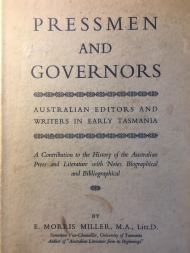 Pressmen and Governors