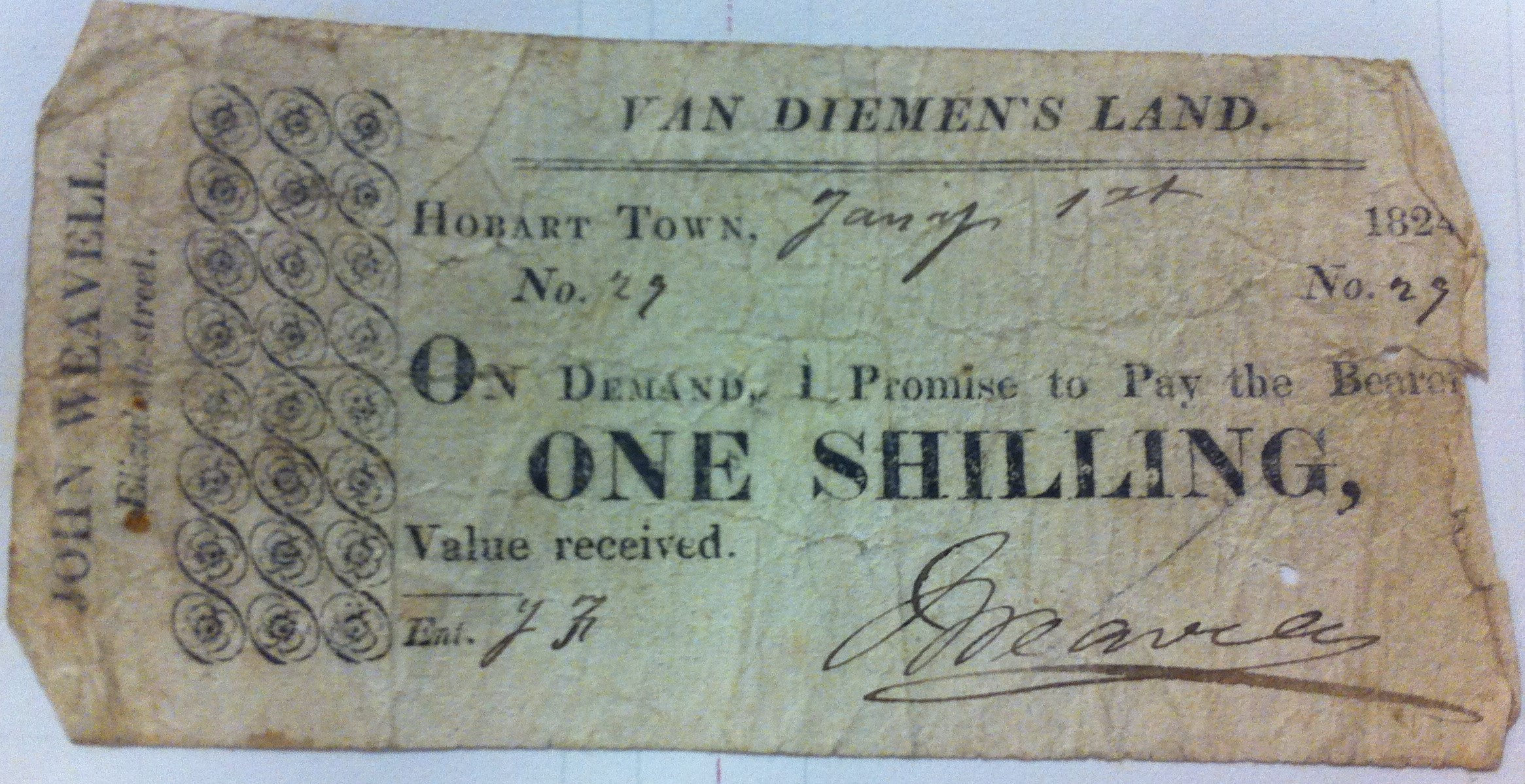 Promissory notes 1824 (2)