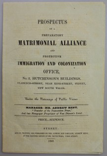 Prospectus Matrimonial Alliance