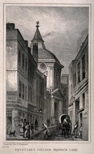 Warwick Lane 1827