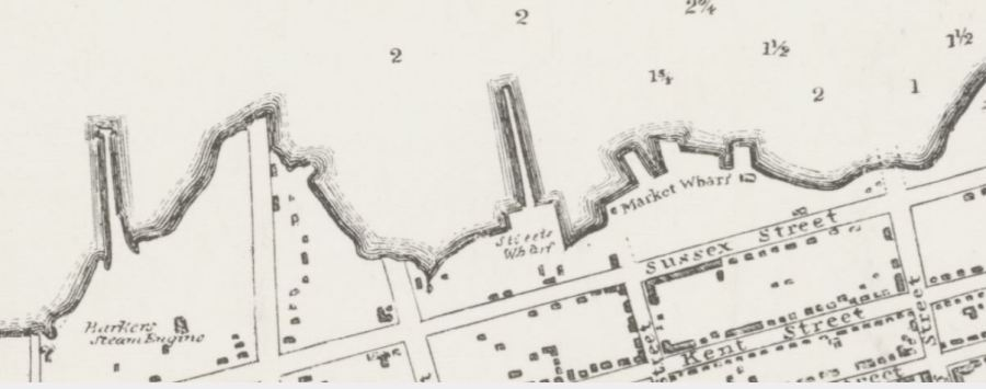 Streets Wharf 1831