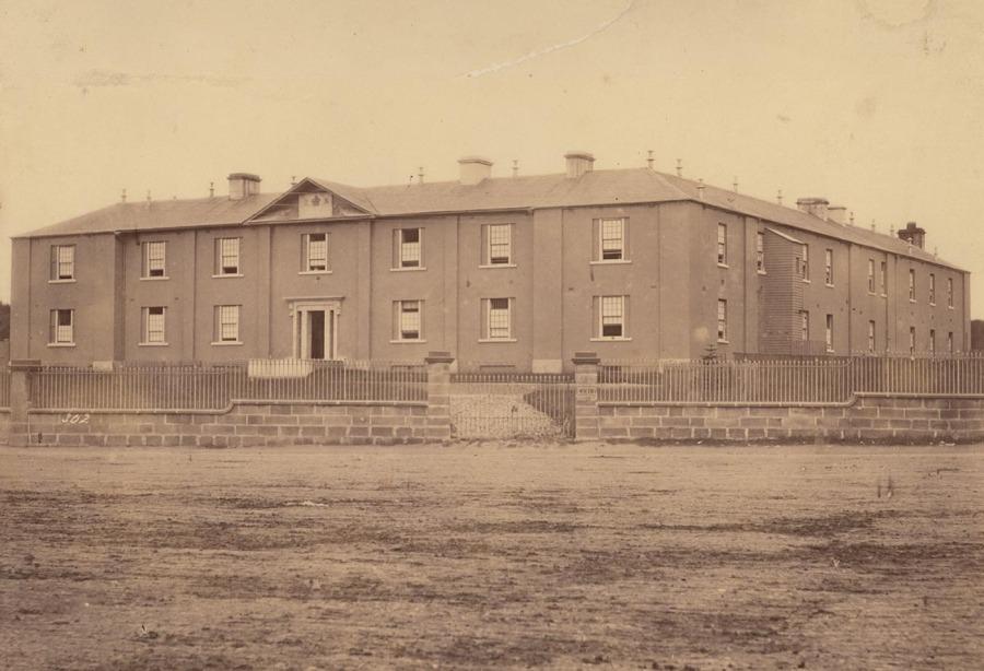 Benevolent Asylum Sydney 1871