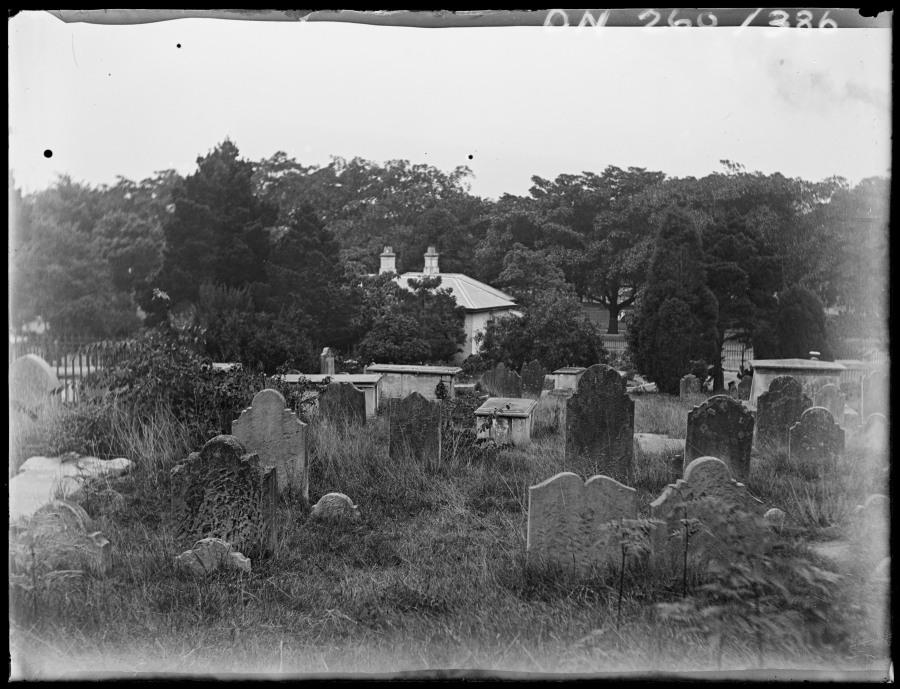 Old Devonshire Street Cemetery Sydney c16401_0012_c