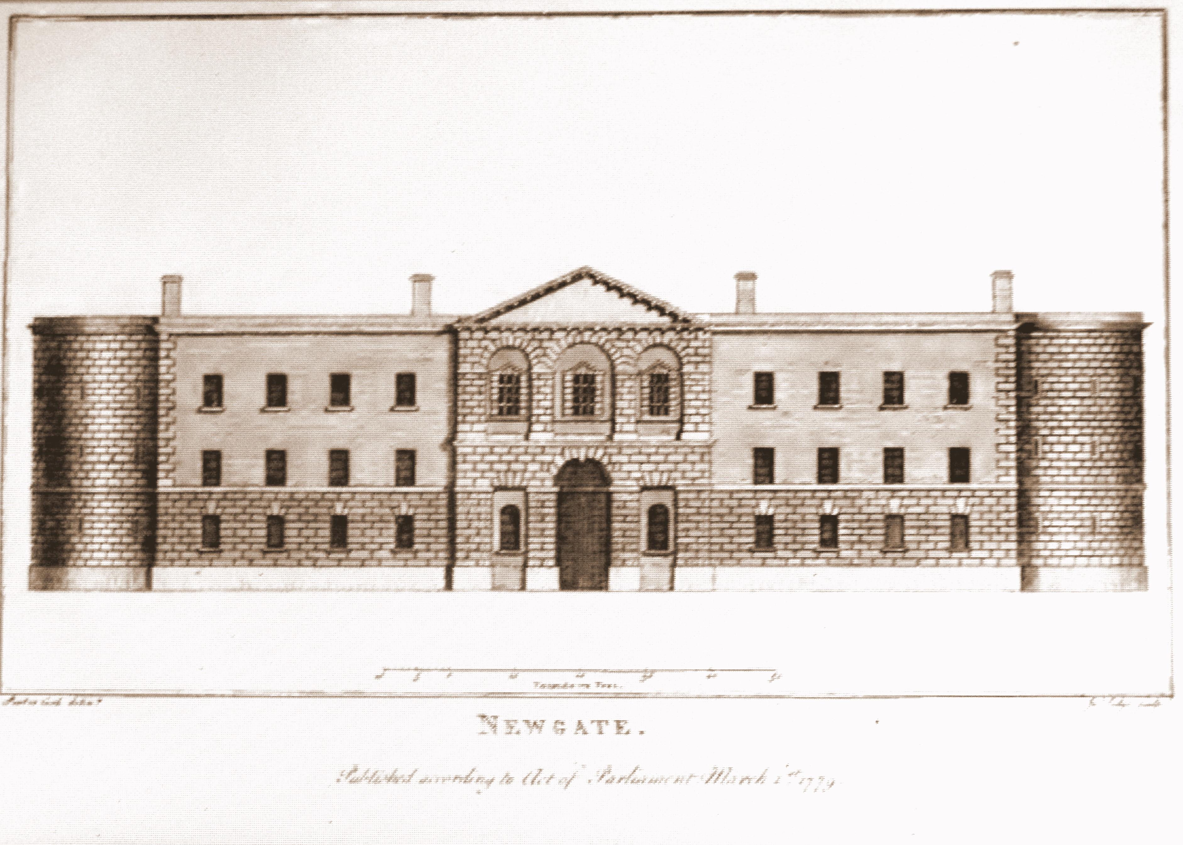 Newgate_Prison_Sepia