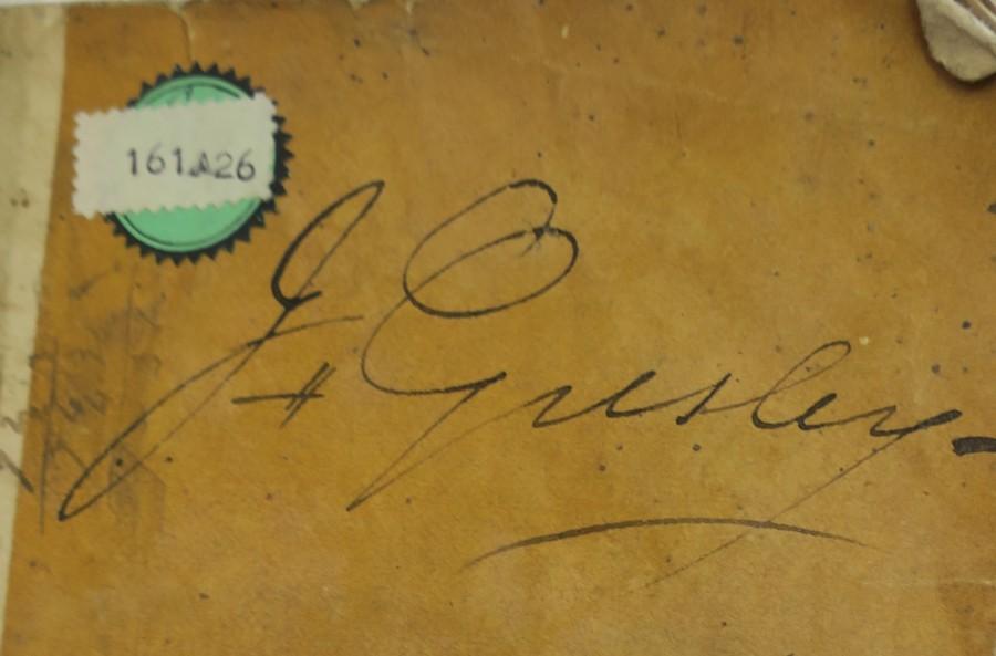 1825 Almanack RS Fawkner gresly