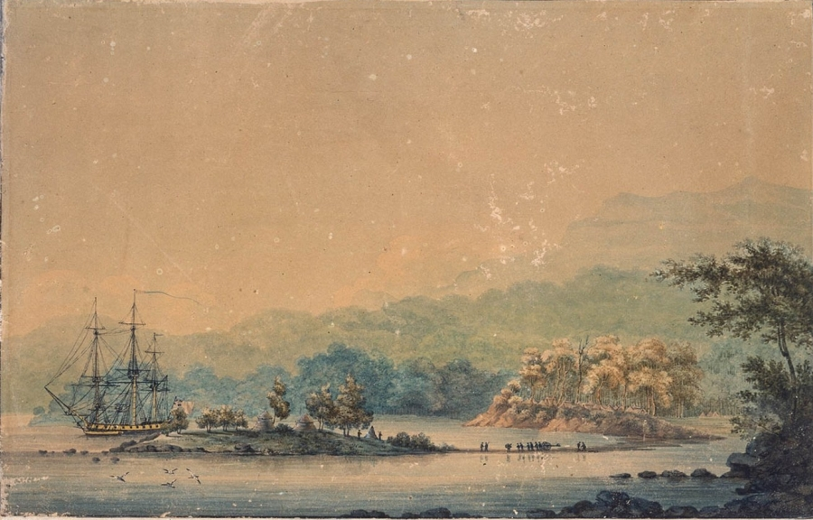 View of Sullivans Cove 1804